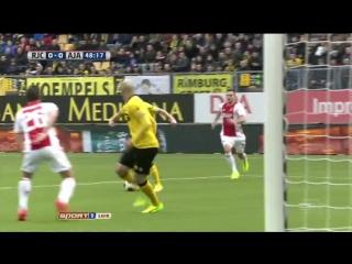 Рода 0:2 Аякс | Эредивизи 2016/17 | 20-й тур | Обзор матча