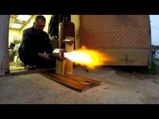 Самодельный ТРД - это было НЕВОЗМОЖНО но он заработал - Homemade jet engine launched