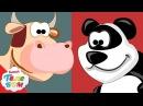 Учим Животных с Киндер сюрпризами 2 Часть. Развивающие мультики для малышей