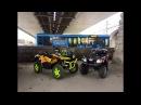 Stels Gepard 800 Cf Moto 500 ride in Moscow