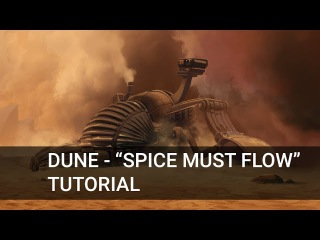 Frank Herbert's DUNE - Spice must flow!.. - Process time lapse