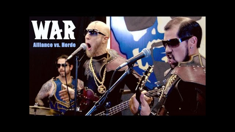SONGHAMMER - WAR Alliance vs Horde (featuring Old Man Saxon Isaac Obi One Lucas)