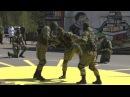Показательное выступление разведроты 27-ой отдельной мотострелковой бригады