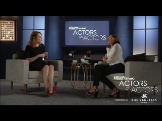 Variety Studios Presents Actors on Actors: Emma Stone and Molly Shannon