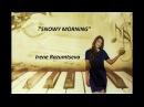Snowy morning Yamaha Clavinova instrumental improvisation
