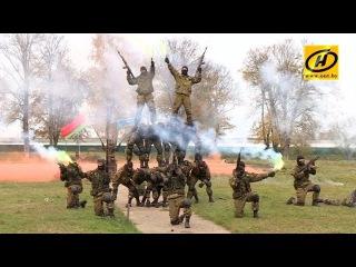 Соревнования Юный спецназовец - 2017: белорусская армия