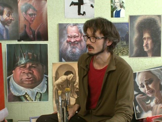 Тот самый художник ЛОПАТИН, на которого обиделась Поклонская!