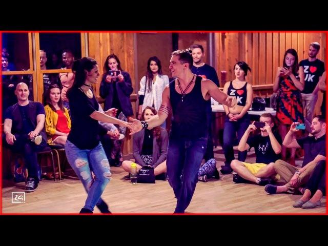 Ed Sheeran Shape of You Diego Borges Jessica Pachecho West Coast Swing Dance at Zouk Atlanta