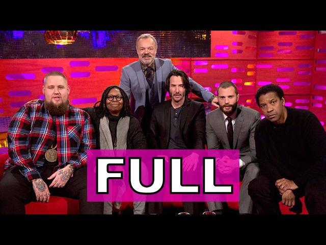 The Graham Norton Show FULL S20E18 Whoopi Denzel Keanu Jamie Dornan Rag'n'Bone Man
