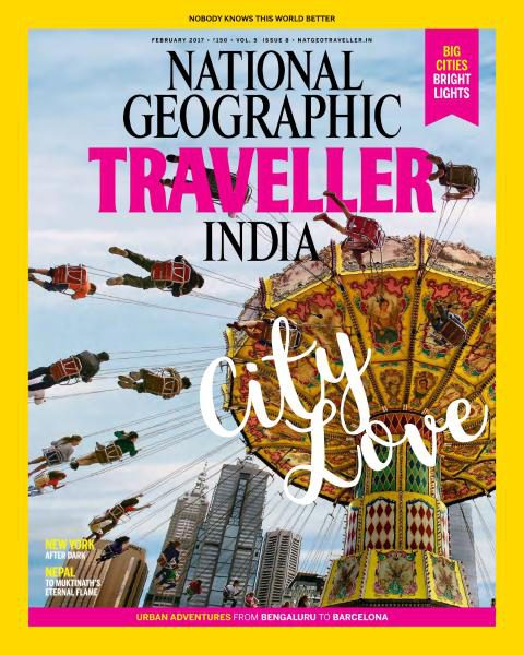 National Geographic Traveller India February 2017 vk.com