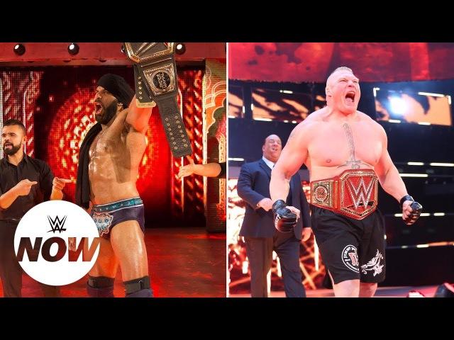 Paul Heyman responds to Jinder Mahal's WWE Survivor Series challenge to Brock Lesnar WWE Now
