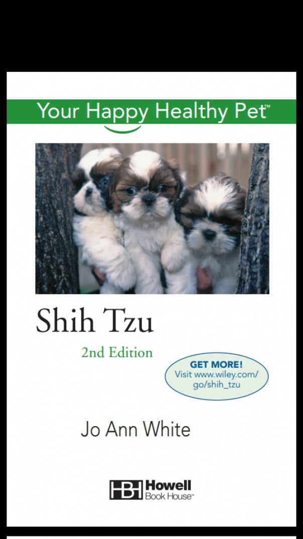Shih Tzu Your Happy Healthy Pet