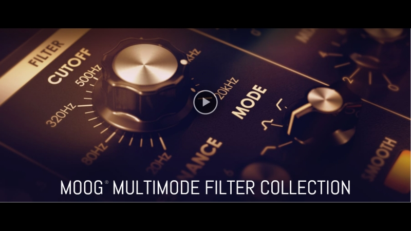 UAD Moog Multimode Filter XL performance with David Phipps of STS9