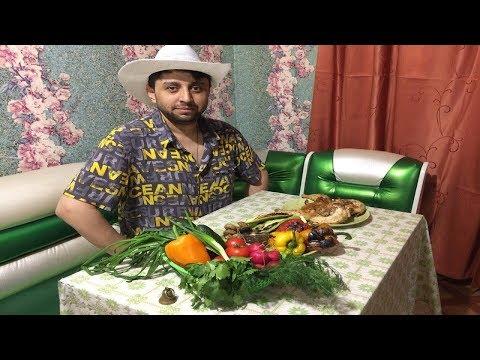 Курица и овощи на костре по цыгански таборный рецепт Цыган готовит