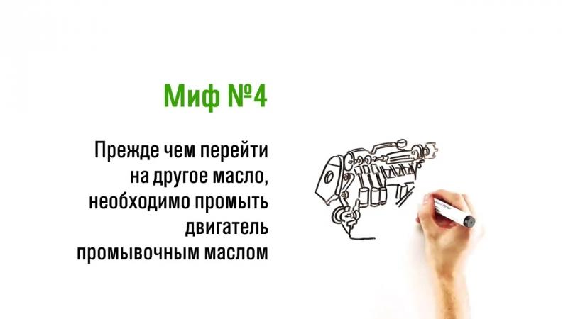 Миф 4 Нужно ли использовать промывочное масло