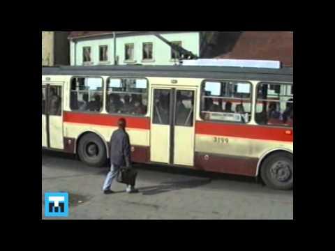 1991 TMB Brno provoz DPMB tramvaje trolejbusy autobusy
