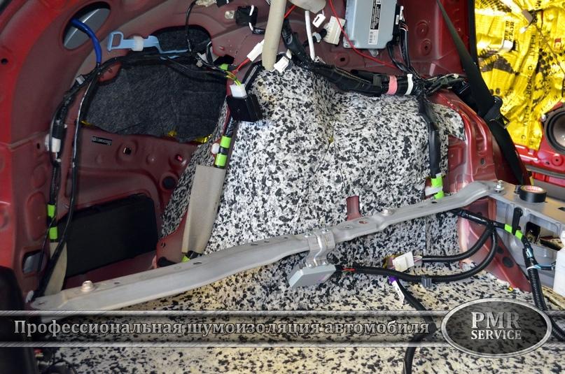Комплексная шумоизоляция Lexus RX, изображение №12