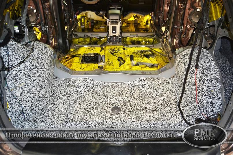 Комплексная шумоизоляция Hyundai ix 35, изображение №8