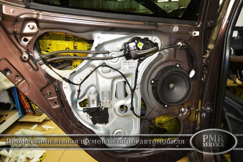 Комплексная шумоизоляция Hyundai ix 35, изображение №12