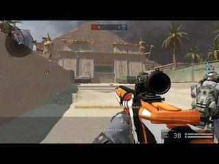 Warface, читер на Рейтинговых матчах с золотой FN FAL DSA 58. Ролик для техподдержки