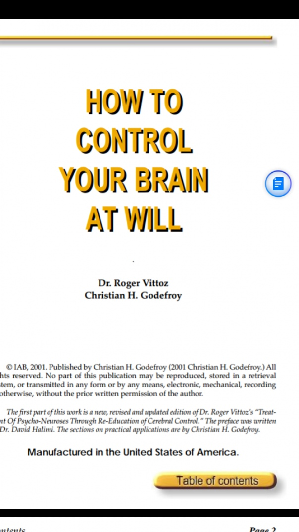 How To Control Your Brain At Will - Roger Vittoz
