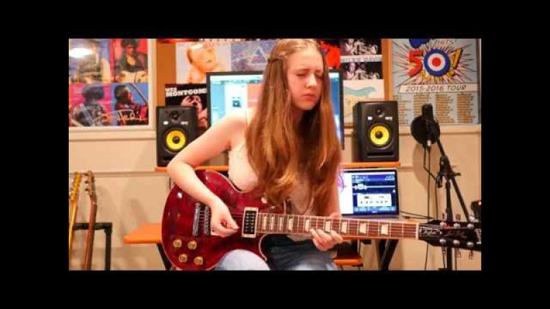 -Since I've Been Loving You- Guitar Cover by Ayla