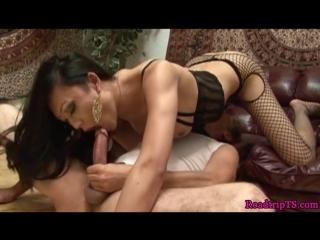 Busty ladyboy assfucked after queening her bf (красотки shemale | трансы ts ladyboy трапы sissy)