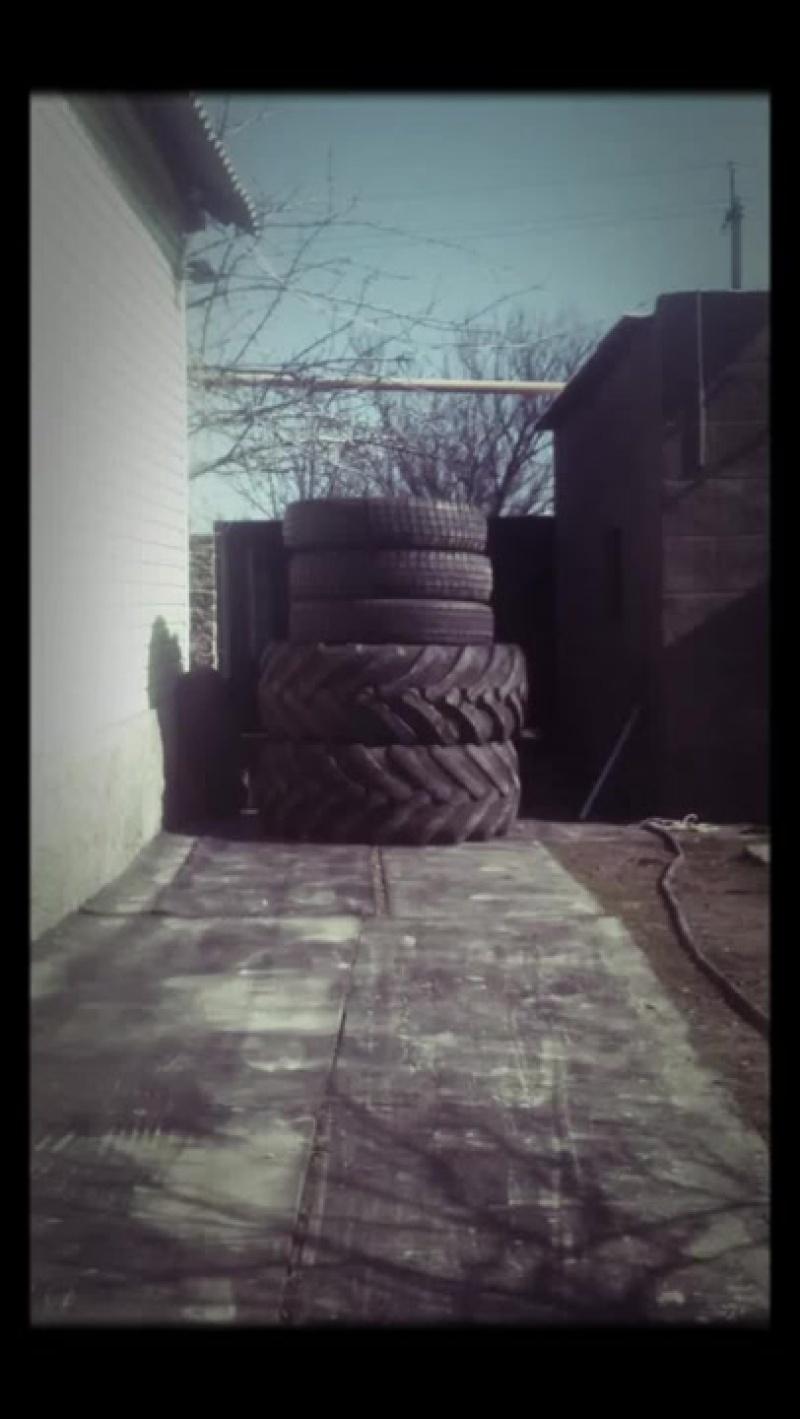 Тренировка с колесами. Упражнение пирамида