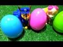Щенячий патруль Развивающее видео Учим цвета с Киндер сюрприз. 3 серии подряд Paw P