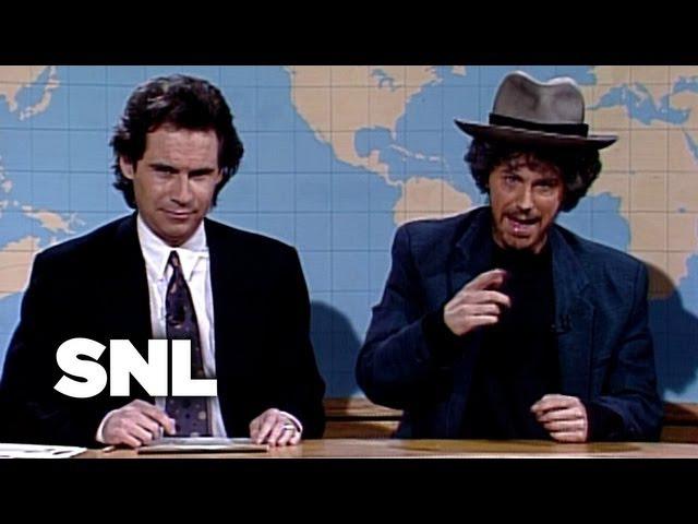 Dana Carvey As Bob Dylan - Saturday Night Live