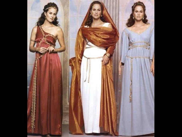 История моды Античность Римское изящество 1 из 5