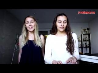 Пицца - Лифт (cover by Радмира ft. Софья Мантулины),красивые девушки классно спели кавер,красивый голос,поёмвсети,шикарно поёт