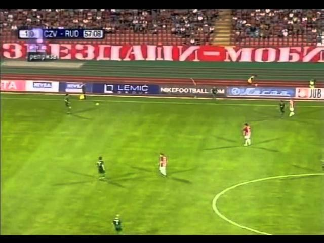 Crvena zvezda Rudar Velenje 4 0 UEFA EL QUAL Round 2 23 07 2009