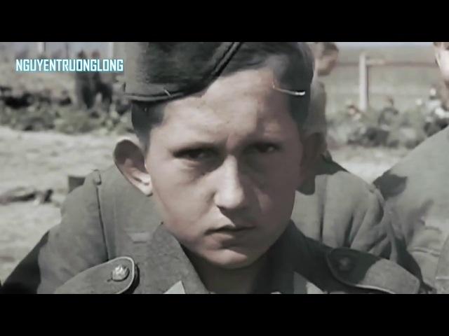 Битва за Берлин 1945 г в цвете Уникальные кадры! HD 720