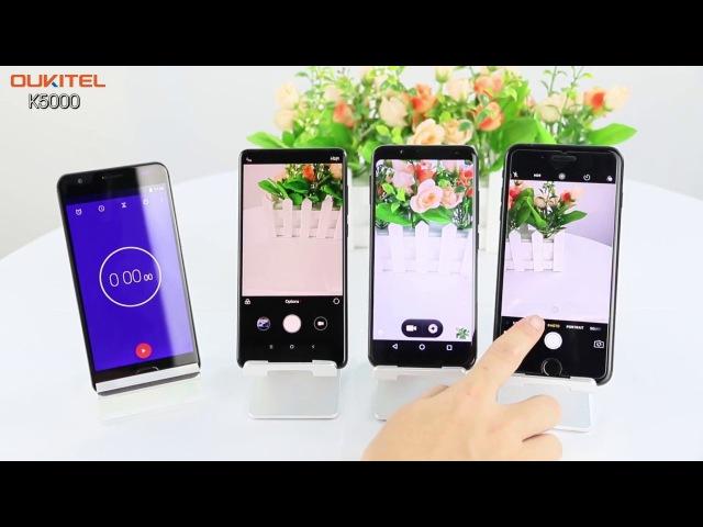 Сравнение времени работы Oukitel K5000 IPhone 7 Xiaomi Mi Mix 2