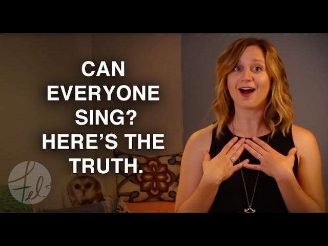 Can Everyone Sing Here's the Truth Felicia Ricci