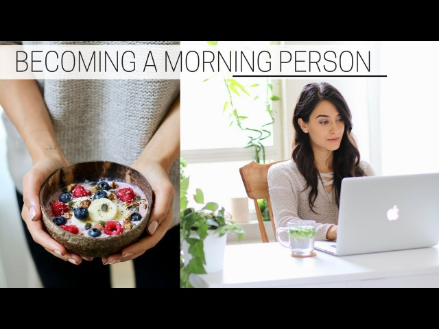 BECOMING A MORNING PERSON printable guide