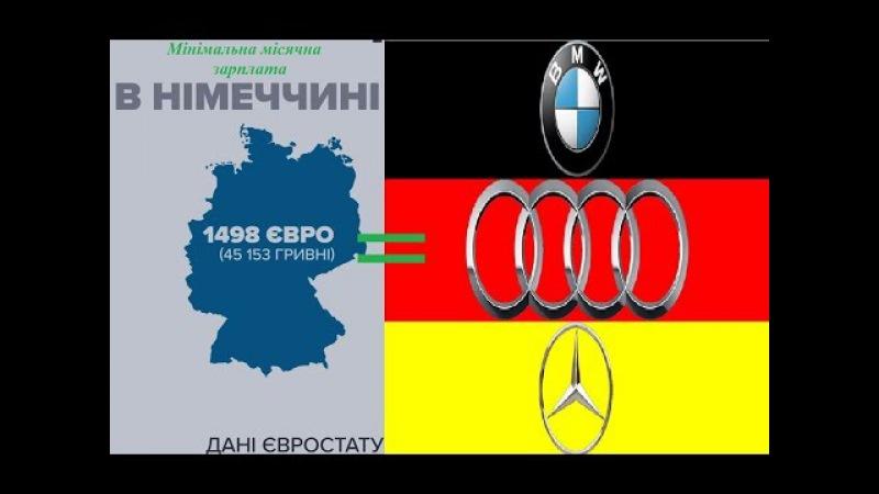 BMW AUDI MERCEDES за ОДНУ МІНІМАЛЬНУ ЗАРПЛАТУ