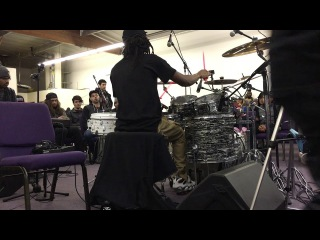 Sean Wright - after-NAMM 2017 clinic