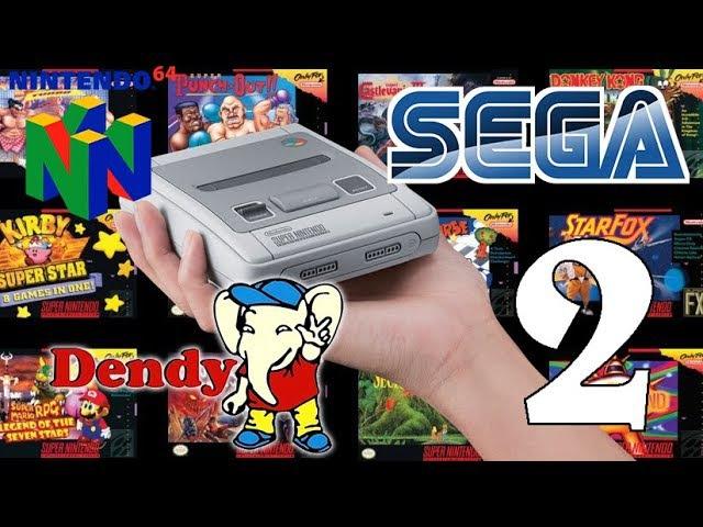 Как на SNES Mini установить новые игры от NES, Dendy, Sega, N64 (Часть 2)