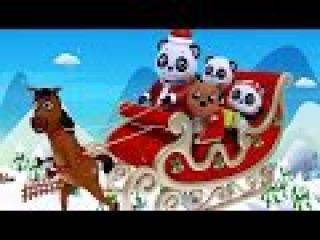 Jingle Bells | Christmas Carols | Christmas Songs | Xmas with Baby Bao Panda
