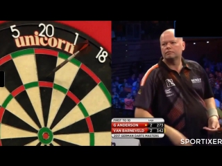 Raymond van Barneveld vs Gary Anderson (PDC German Darts Masters 2017 / Quarter Final)