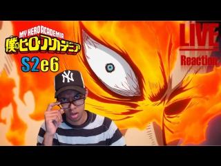 Vezaks: реакция+ ХОУЛИ ЩИТ, МАН! Моя Геройская Академия/Boku no Hero Academia - 2 сезон 6 серия