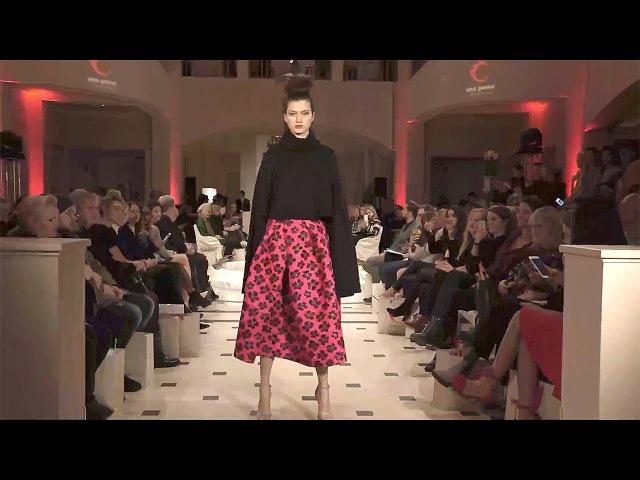 Anja Gockel Fall Winter 2017 2018 Full Fashion Show Exclusive