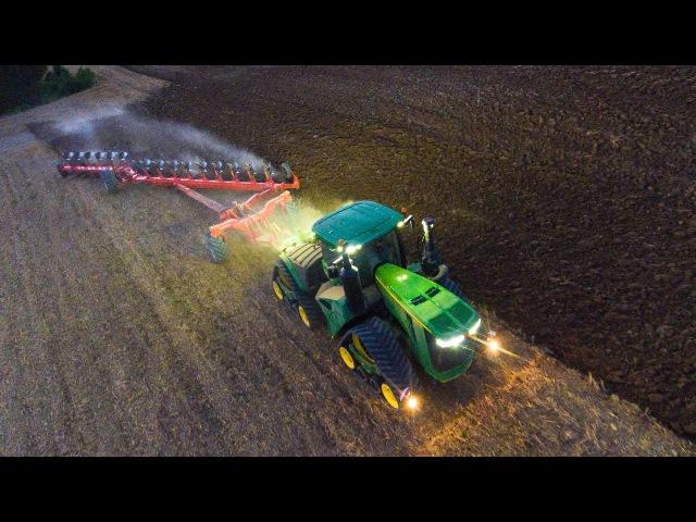 JOHN DEERE 9620RX | Gregoire Besson Voyager 15 | Big ploughing