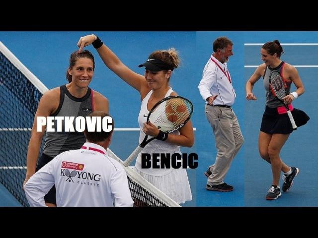 Когда Петкович обыграла Бенчич 🤣🤣🤣