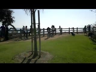 Русские туристы в америке_ лос анджелес, пляжи