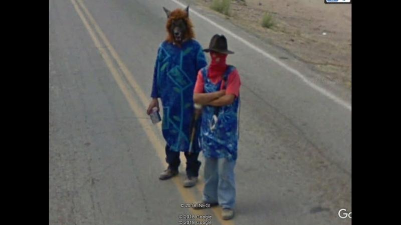 Сонора Лос Ойос Google Earth