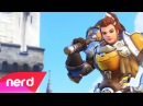Overwatch Song Born For This Brigitte Song NerdOut ft Fabvl Cally Rhodes YourOverwatch