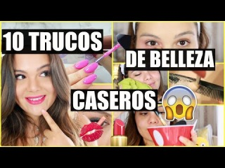 10 TRUCOS DE BELLEZA CASEROS QUE TODA MUJER DEBE SABER ♡ BEAUTY HACKS | Raisa Falcão